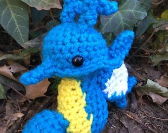 Kingdra amigurumi pokemon seadra horsea go chibi plush plushie stuffed animal toy