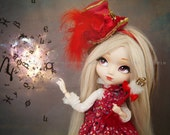 "Tirage simple 10x15cm ""Magic Explosion"" - Pullip Isul Dal photographie, doll art collection, impression deco no BJD no Blythe"