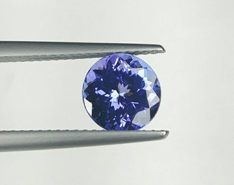 1.75ct 7.4mm Round Tanzanite