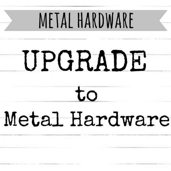 Upgrade to METAL HARDWARE for your custom Dog Collar Order