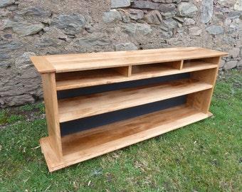 TV Cabinet Handmade of Solid Oak