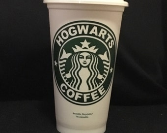 Harry Potter Hogwarts Personalized Coffee Cup