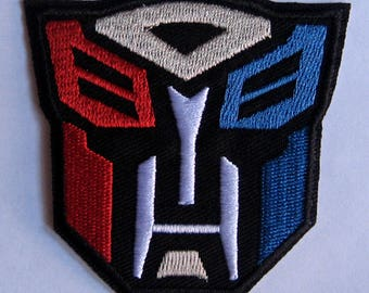 Autobots Embroidered Patch, patches for jackets, cartoon patches, iron on, sew on, cool, popular, hot