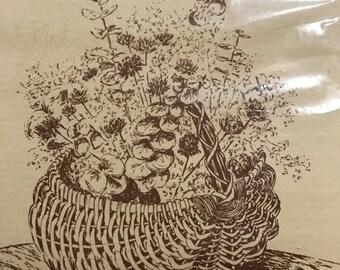 Let's Make a Basket, Egg basket kit by J. Laughridge