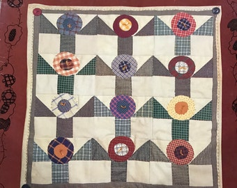 A Country Quilt Garden by Cheri