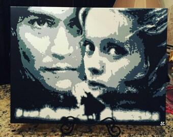 Sleepy Hollow Acrylic Painting