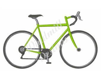 Ten Speed Bike - Machine Embroidery Design