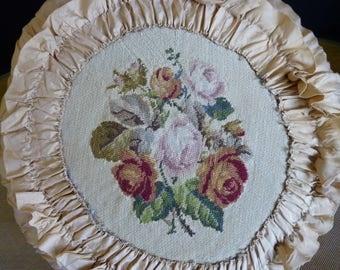 1920 Boudoir Pillow, antique Pillow