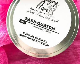 Sass-quatch | Soy Candle