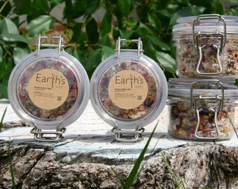 Botanical Bath Salts with Dead Sea Salts, Himalayan Salts and Essential Oils