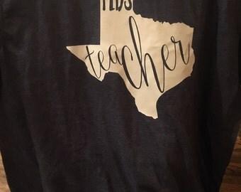 Texas teacher shirt
