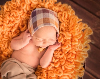 Newborn Hat, Newborn Photo Prop, Newborn Bonnet, Newborn Hat Prop, Newborn Props, Newborn Hat Boy