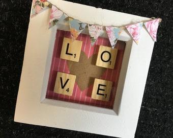 Personalised frame, Love, Gift, Birthday