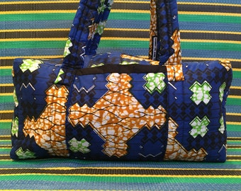 Quilted Travel Bag