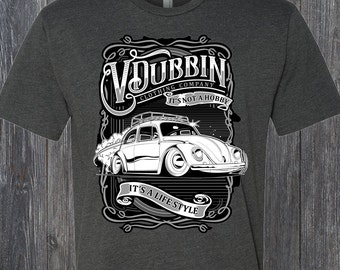 Volkswagen Tee Shirt V Dubbin VW Bug Beetle