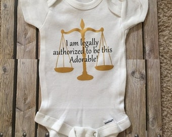Lawyer Onesie