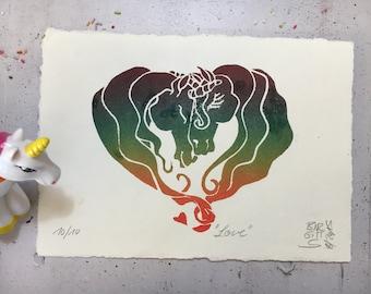 Love - Unicorn love