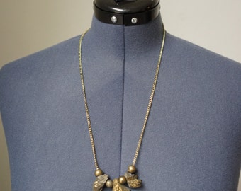 Foolish Gold - Natural Stone Necklace