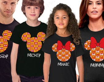 Disney Family Shirts, Mickey and Minnie Shirts, Personalized Disney Shirts for Family, Family Shirts, Disney Vacation Shirts, Disney Shirts
