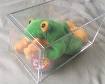 Beanie Babies - Smoochy the Frog - 6th Generation