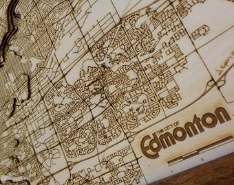 "Edmonton Map - 17""x23"""