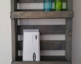Key Holder and Mail Organizer with Secondary Shelf