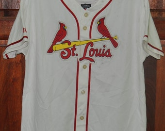 a99ed12fb ... Vintage MLB St. Louis Cardinals David Freese 23 White Home Replica  Baseball Majestic Jersey ...
