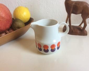 Vintage german 70s porcelain creamer by Schönwald