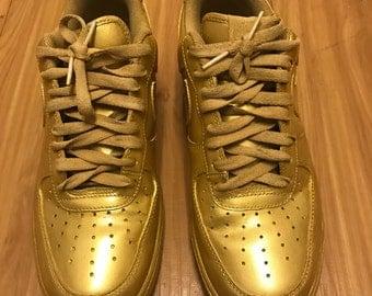 All gold AF1  custom