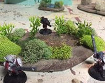 Wargaming Terrain: Jungle Quicksand pit