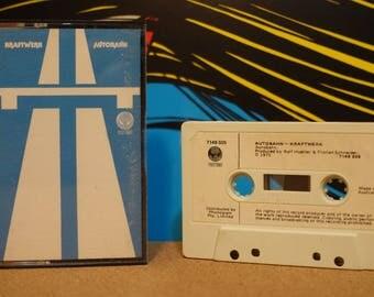 Autobahn by Kraftwerk Vintage Cassette Tape