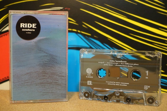 Nowhere by Ride Vintage Cassette Tape