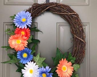 Sping Wreath // Easter Wreath // Front Door Wreath