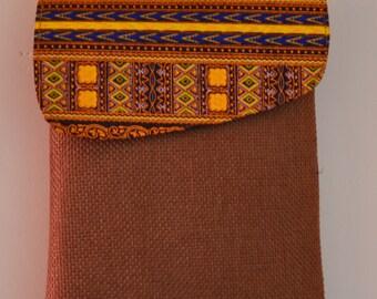 African Bag/Ankara Bag/Messenger Bag/ Handbag/Woven Bag/Cross Body Bag/ Camera Bag/Boho Bag/Cotton Shoulder Bag/Dashiki Bag/Tribal Bag/Brown