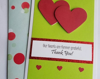 Humble Hearts Thank You Card