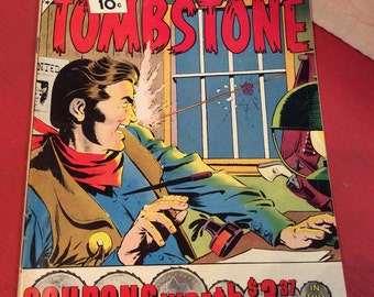 Vintage 1961 Comic Book /Sheriff of Tombstone Vol #1 No. #15