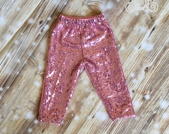Light Pink Sequin Pant