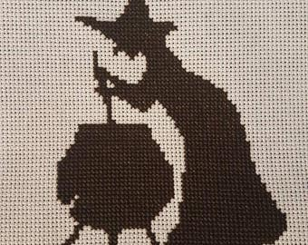 Harry Potter Leaky Cauldron cross stitch