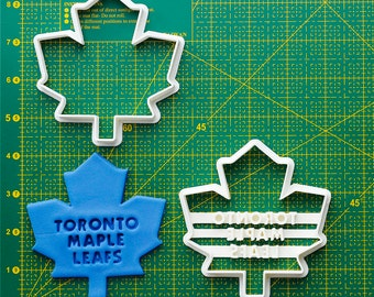 Toronto Maple Leafs  Fondant Cutter