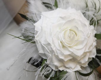 Glamelia wedding Bouquet preserved flowers - Keep Your Bride Bouquet - Preserved Natural Flowers