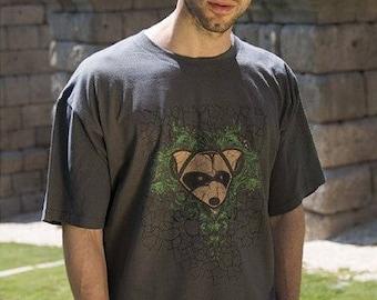 BROKEN - Pucksuck, raccoon, raccoon t shirt