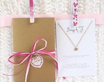 Lucky Elephant | Gold Elephant Necklace | Friend Birthday gift | Elephant Jewelry | Birthday Gift for Sister | Good Luck Elephant Charm