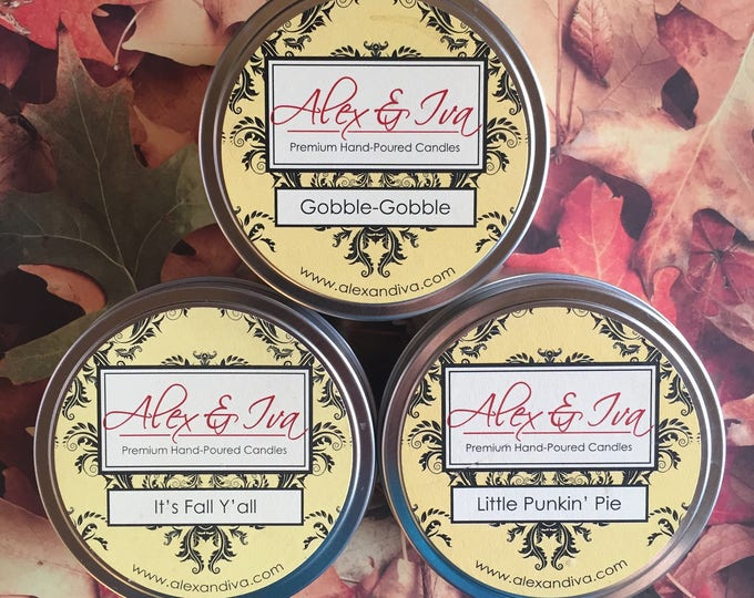 Holiday Trio #2 - 8 oz. tins