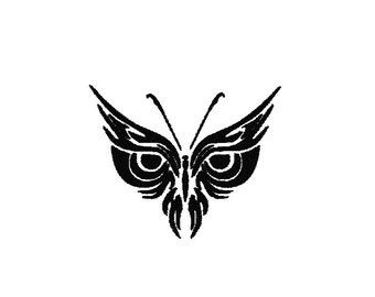 Owl Eyes Machine Embroidery Design, Owl embroidery design, Owl eyes design, Owl embroidery pattern, owl eyes machine embroidery pattern