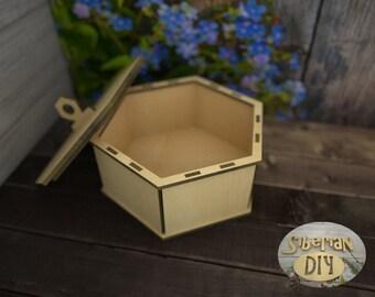 "Playwood box ""Hexagon"""