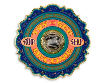 Try to See - Poster - Sign painting, fileteado, psychedelic letters