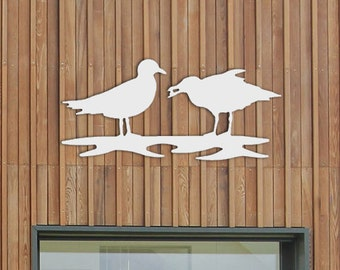 2 Seagull Wall Hanging