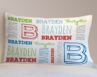 Personalized Name Toddler Pillowcase Custom Name Gift
