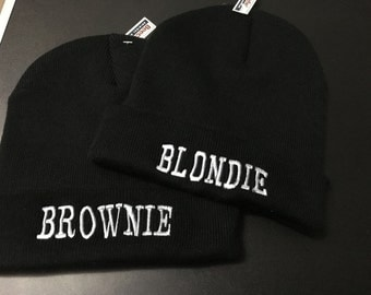 Blondie & Brownie hat (Blondie/Brownie, Blondie/Blondie, Brownie/Brownie