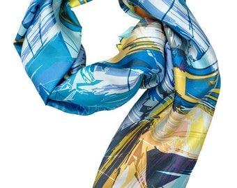 100% Twill Silk Scarf  Item# 331416